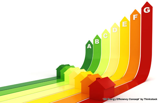 3D Energy Efficiency Concept by Thinkstock